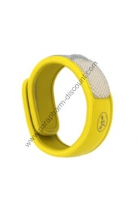 Para Kito - BRACELET ANTI-MOUSTIQUE NATUREL - JAUNE