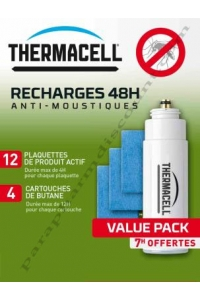 HBM - THERMACELL - RECHARGE 48H POUR NOMADE ET LANTERNE